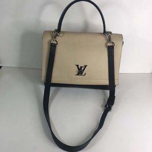 Louis Vuitton Mylockme 2 Vanille Noir Calfskin